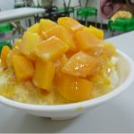 かき氷!台湾でマンゴーかき氷を食べてみた感想。美味しい?値段は?